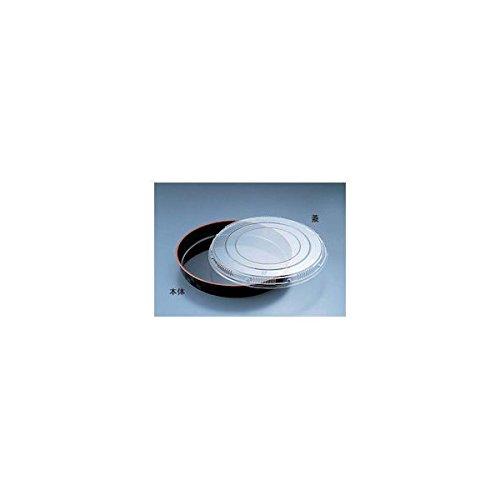 プラ容器 市松 黒赤フチ 50(5枚入) 【品番】XNS0501