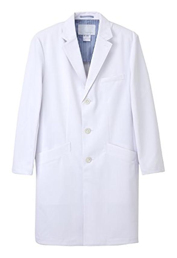 コスチュームかもめゴージャス医療用ユニフォーム ナガイレーベン 男子シングルドクターコート  SD-3000(LL)ホワイト