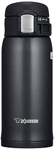 Zojirushi SM-SC60HM Stainless Mug, Slate Gray 12-Ounce Silky Black
