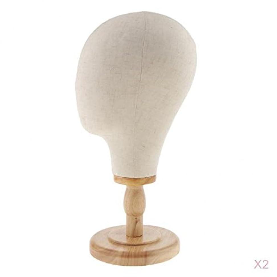 耐える蒸速報SM SunniMix マネキン ヘッド ディスプレイ キャンバス ウィッグスタンド 帽子スタンド メガネホルダー ハットホルダー