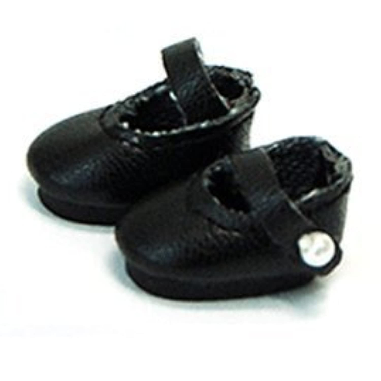人形靴メアリージェーン – ストラップ靴20 mm [ブラック] (並行輸入品)