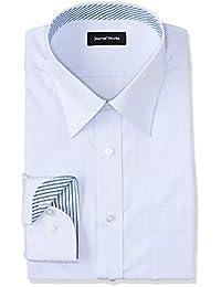 [アオキ] レギュラーカラーシャツ 選べるカラーバリエーション【白/ブルー/グレー/パープル】長袖 メンズ