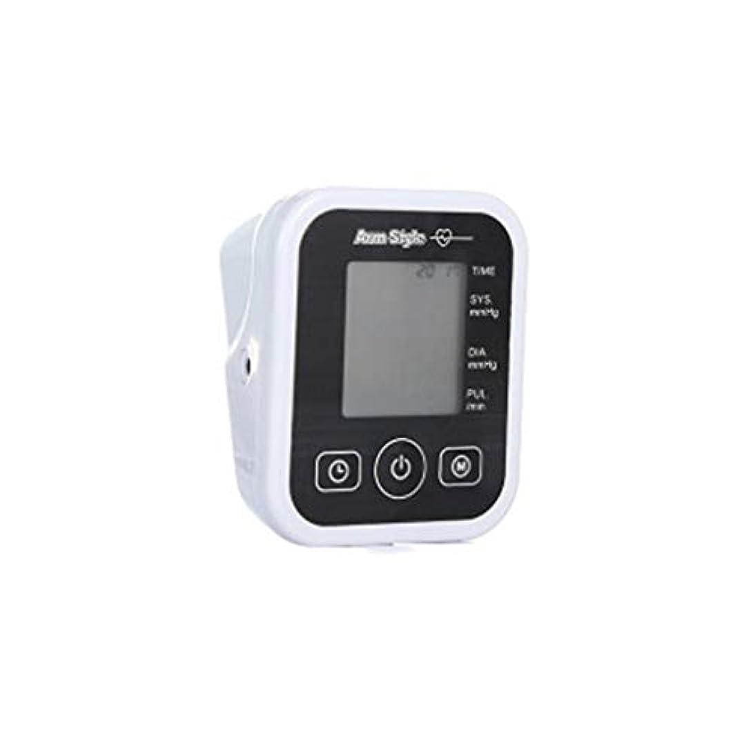 お風呂才能のある液体血圧モニターアッパーアームバックライト、袖口、自動および120グループのメモリと正確な、ダブルユーザとの家庭用デジタルBPモニタ付き大型ディスプレイ,白