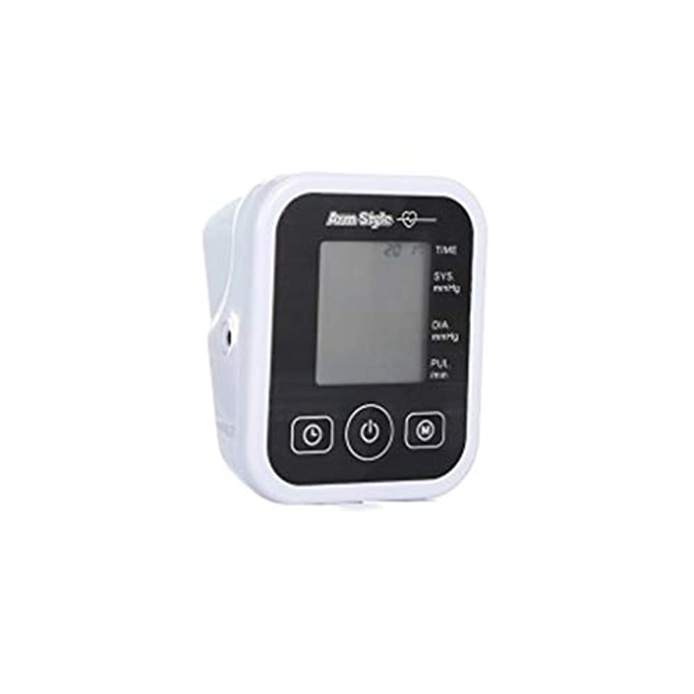 ウールスラム故障中血圧モニターアッパーアームバックライト、袖口、自動および120グループのメモリと正確な、ダブルユーザとの家庭用デジタルBPモニタ付き大型ディスプレイ,白