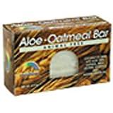RAINBOW RESEARCH BAR SOAP,ALOE-OATMEAL, 4.2 OZ by Rainbow Research