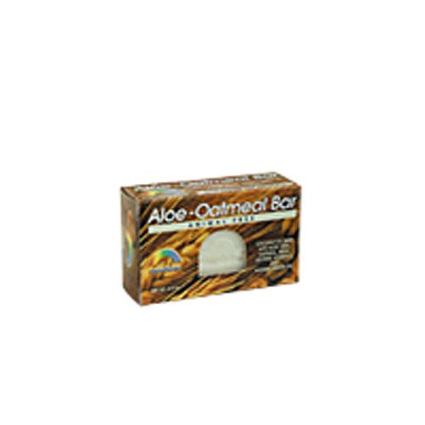 連合飾るイタリアのRAINBOW RESEARCH BAR SOAP,ALOE-OATMEAL, 4.2 OZ by Rainbow Research