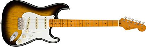 Fender エレキギター Classic Series '50s Stratocaster Lacquer, Maple Fingerboard, 2-Color Sunburst