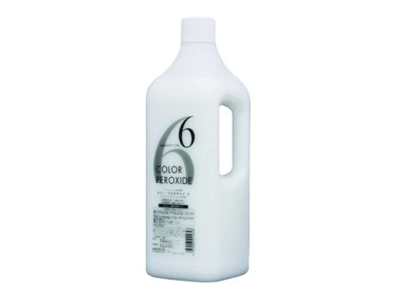 しつけナイロン絶縁するメロスコスメティックス ヘアカラーファンデーション プロキサイド?ヘアカラー用2剤 6% 2000ml