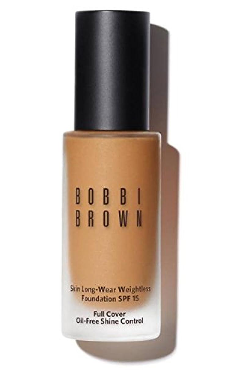 主導権胴体類似性ボビイ ブラウン Skin Long Wear Weightless Foundation SPF 15 - # Golden Natural 30ml/1oz並行輸入品