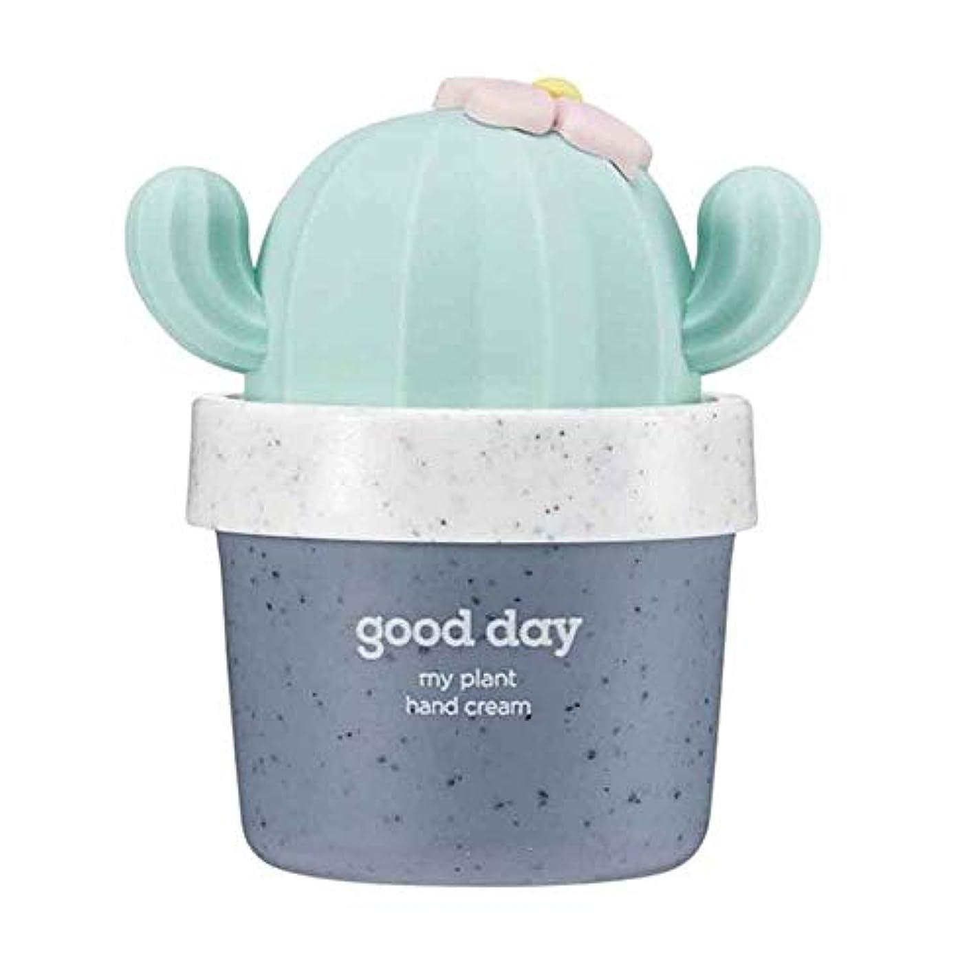 噛む汚い実際の[THE FACE SHOP] ザフェイスショップ ミニサボテン 鉢植えハンドクリーム #03 Good Day 30ml