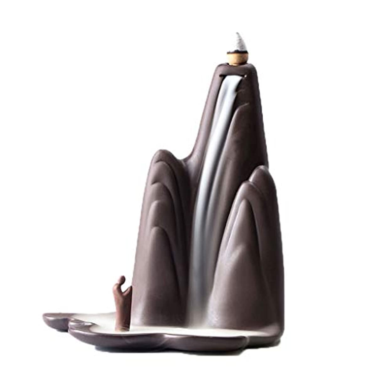 餌ドラフトうなる芳香器?アロマバーナー レトロな懐かしい香炉紫砂香バーナー屋内茶道香バーナーアロマセラピー炉 アロマバーナー (Color : Purple sand)