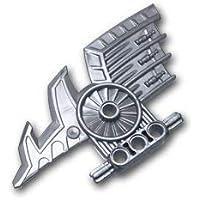 レゴブロック ばら売りパーツ ヒーローファクトリー アックスブレード:[Flat Silver / フラットシルバー] [並行輸入品]