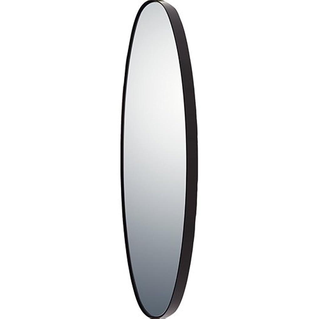 エージェント補正第二ユーパワー ミラー?鏡 マルチ 重さ:約4kg オーバルロング グロスブラック SM-10052