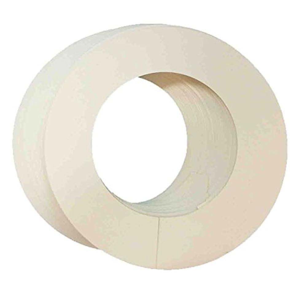 カラー カーラー 直径10cm缶用 50枚(005-1) ブラジリアンワックス ワックス脱毛 ワックスウォーマー 専用
