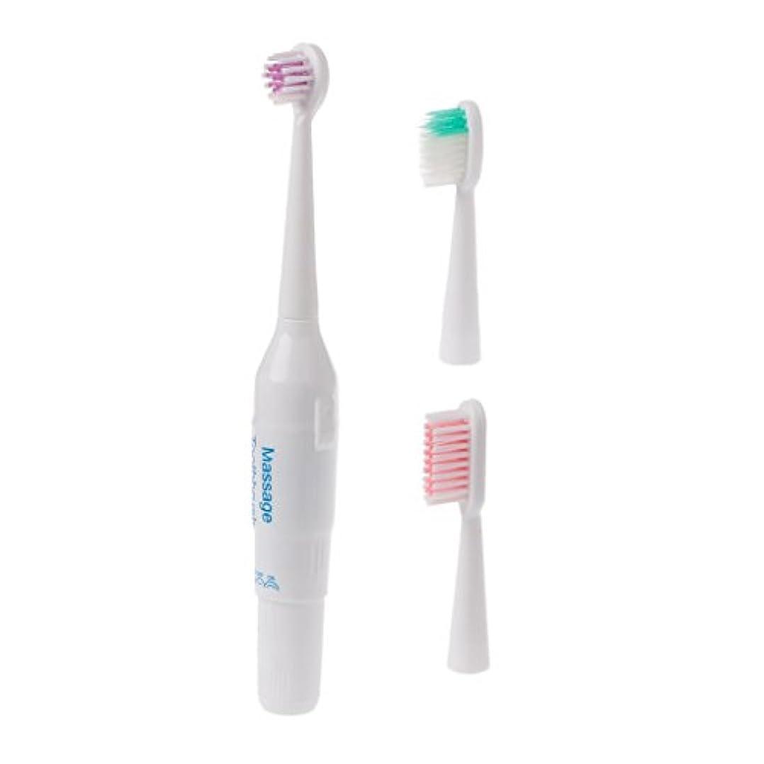 守るオーク外部Manyao キッズプロフェッショナル口腔ケアクリーン電気歯ブラシパワーベビー用歯ブラシ