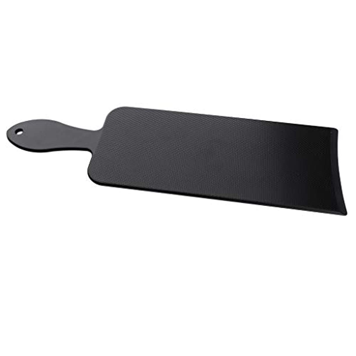 メディア退院ゴミヘアーサロン ヘアカラー プレート ブラック板 3サイズ選べ - L