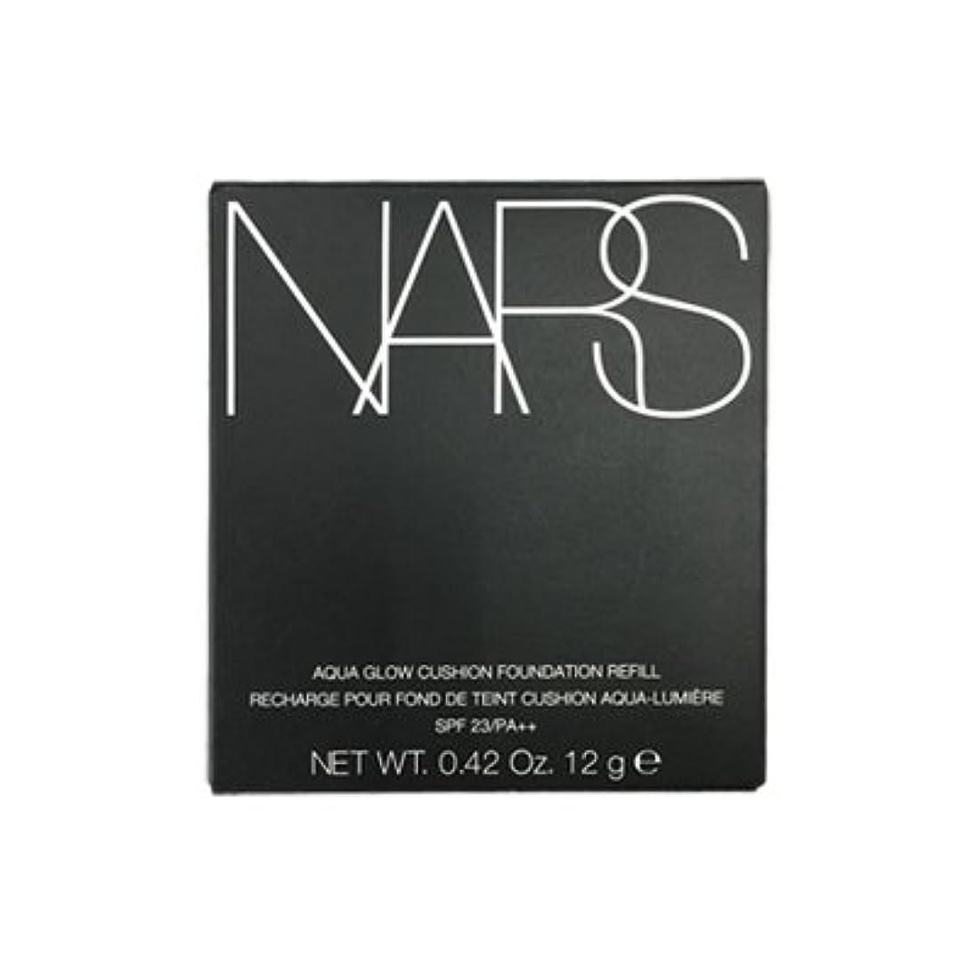 肖像画無謀ラオス人NARS アクアティックグロー クッションコンパクト レフィル SPF23/PA++ #6801 [並行輸入品]
