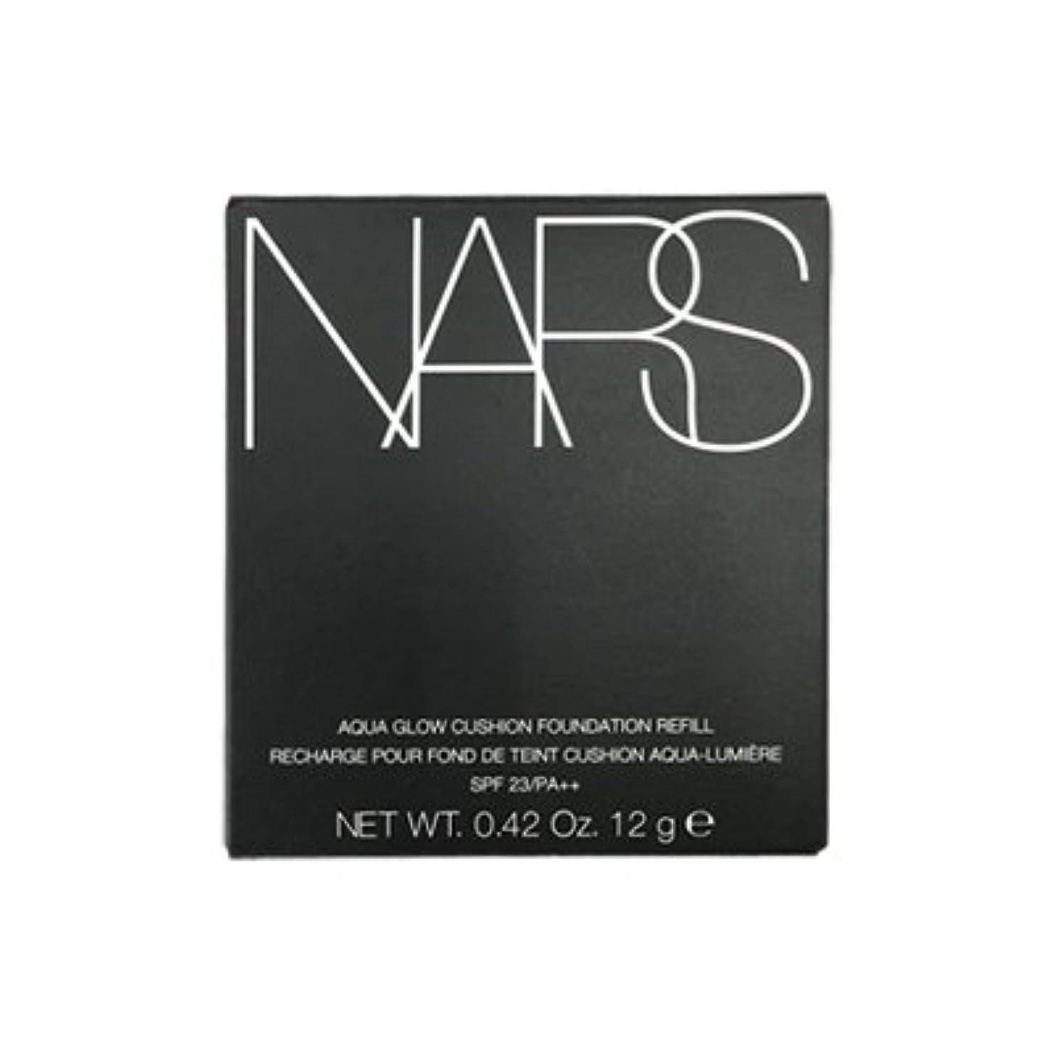 気候複雑な読みやすいNARS アクアティックグロー クッションコンパクト レフィル SPF23/PA++ #6801 [並行輸入品]