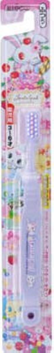 命令的ファーザーファージュ白い【歯ブラシ】 エビス ジュエルペットハブラシ 3~6才 1本 子供用歯磨きブラシ×360点セット (4901221860700)