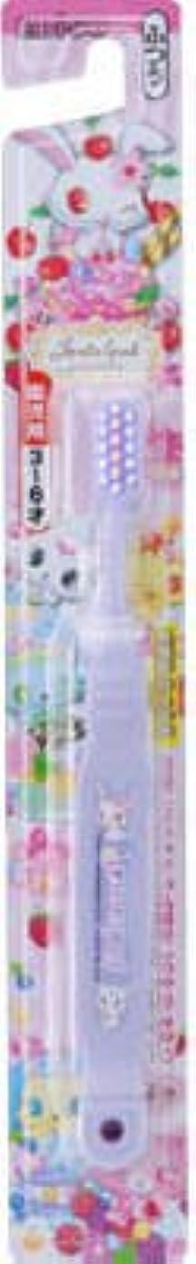 擬人昼間表現【歯ブラシ】 エビス ジュエルペットハブラシ 3~6才 1本 子供用歯磨きブラシ×360点セット (4901221860700)