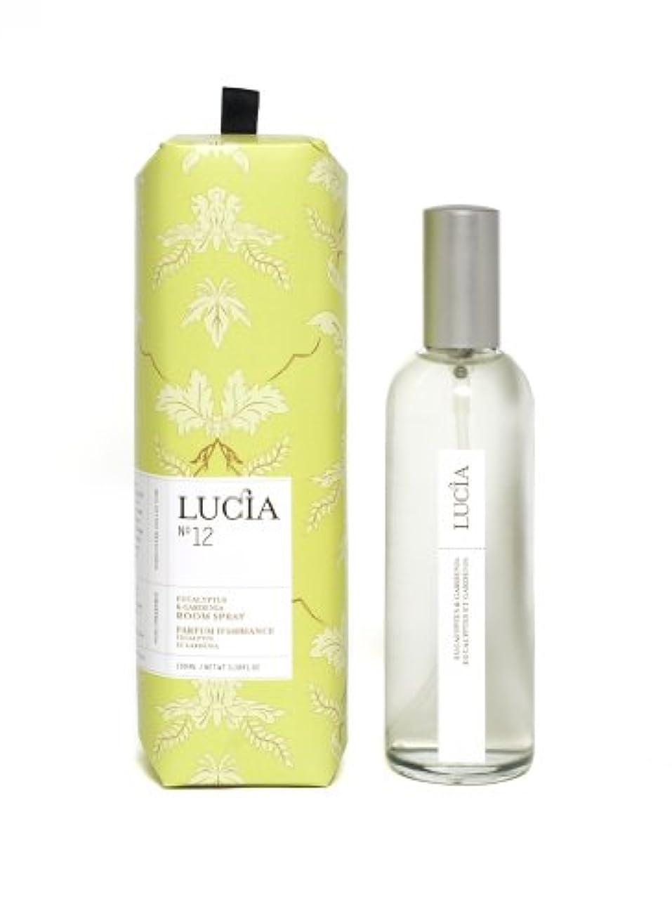 流心理的海外LUCIA Collection ルームスプレー No.12 ユーカリプタス&ガーデニア Eucalyptus&Gardenia Room Spray ルシア コレクション ピュアリビング Pureliving