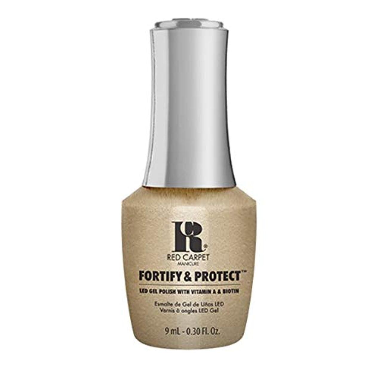 シャイ不忠ブラシRed Carpet Manicure - Fortify & Protect - I'm The Shining Star - 9ml / 0.30oz