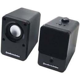 Audio-Technica オーディオテクニカ アクティブスピーカー AT-SP102BK 【まとめ 3セット】