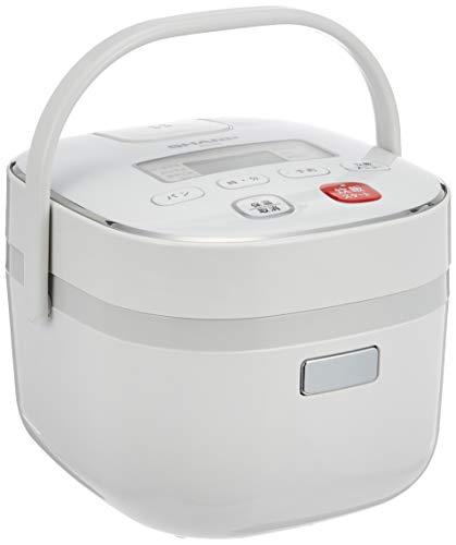 シャープ マイコンジャー炊飯器 ホワイト KS-C5L-W