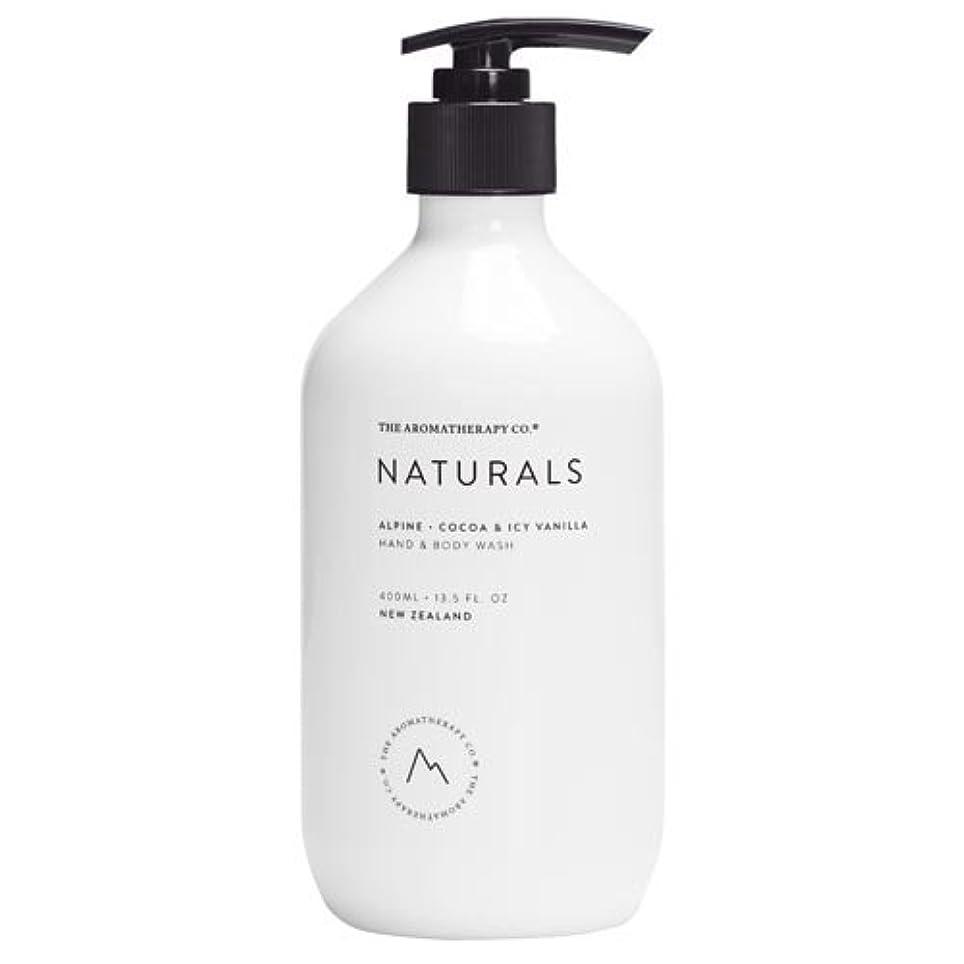 ブランド醜い水分new NATURALS ナチュラルズ ハンド&ボディウォッシュ Alpine アルパイン(山)Cocoa & Icy Vanilla ココア&アイシーバニラ