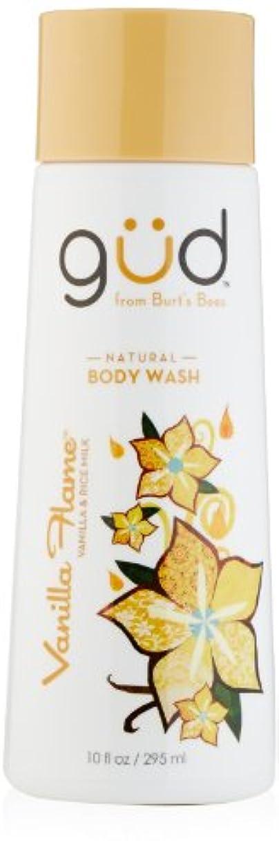 傷つける駐地センチメートルGud Vanilla Flame Natural Body Wash, 10 Fluid Ounce by Gud