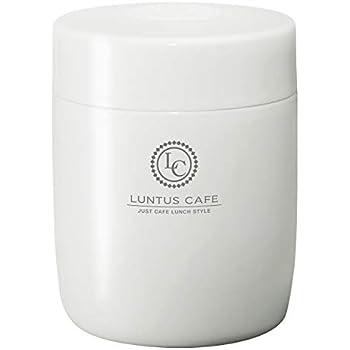 アスベル 保温ランチジャー ホワイト 500ml ランタス ステンレス保温・保冷スープボトル HLB-SR500