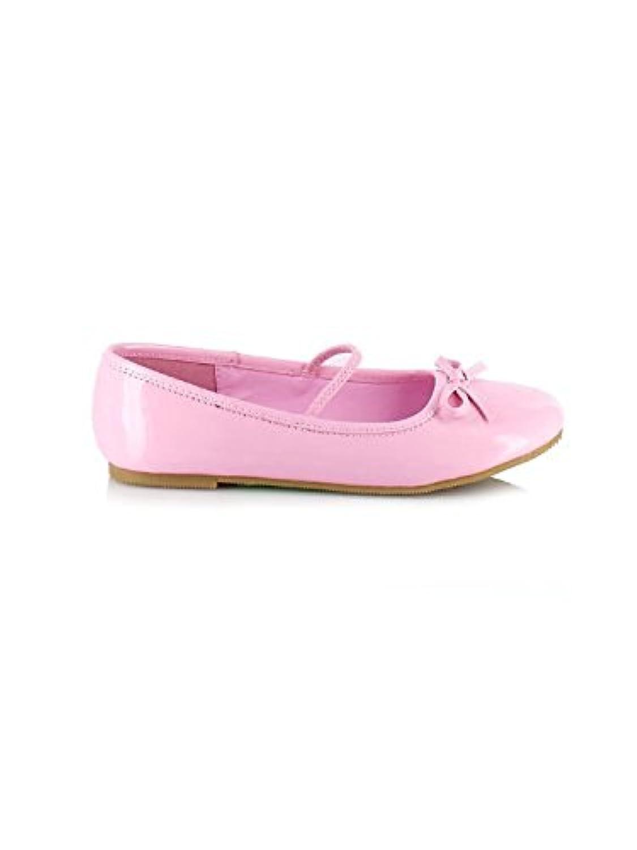 Ellie Shoes E013BALLETP-L Large Ballet Child Slipper - Pink