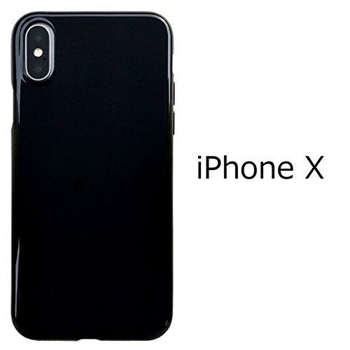 iPhone X【 黒TPU 】 ソフトケース ソフトカバー...
