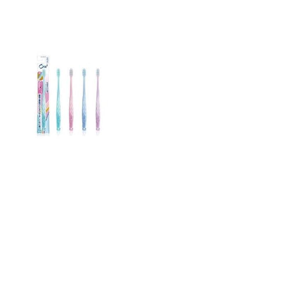伸ばす暴動手書きオーラツーステインクリアハブラシふつう×12個セット