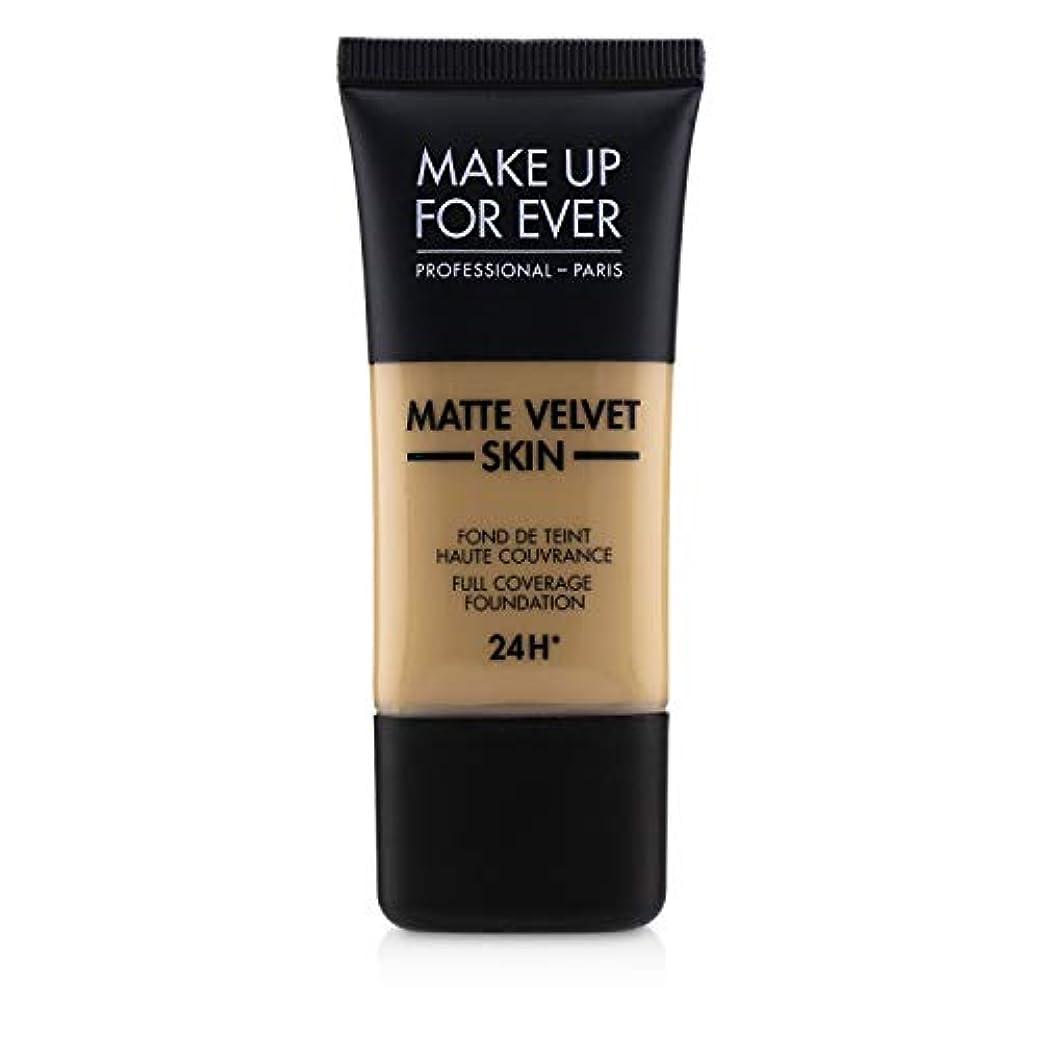 拡声器復讐おっとメイクアップフォーエバー Matte Velvet Skin Full Coverage Foundation - # Y315 (Sand) 30ml/1oz並行輸入品