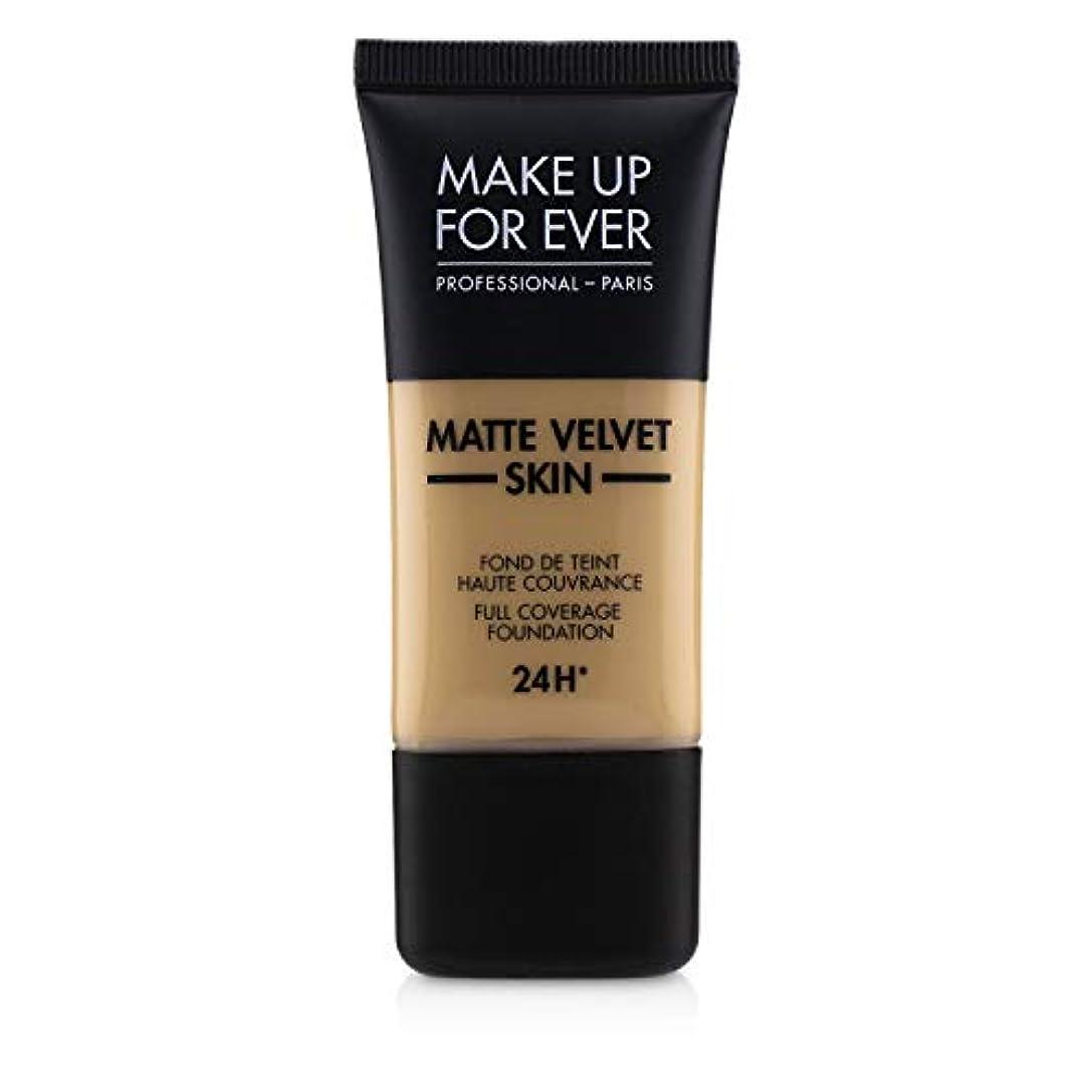 第カートン悪質なメイクアップフォーエバー Matte Velvet Skin Full Coverage Foundation - # Y315 (Sand) 30ml/1oz並行輸入品