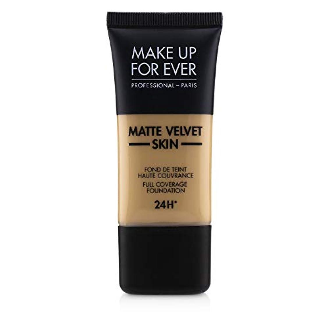 歴史的アラバマ寄託メイクアップフォーエバー Matte Velvet Skin Full Coverage Foundation - # Y315 (Sand) 30ml/1oz並行輸入品