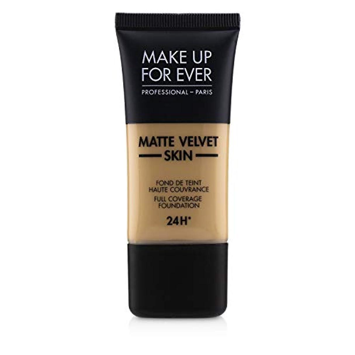 も肉のコンチネンタルメイクアップフォーエバー Matte Velvet Skin Full Coverage Foundation - # Y315 (Sand) 30ml/1oz並行輸入品
