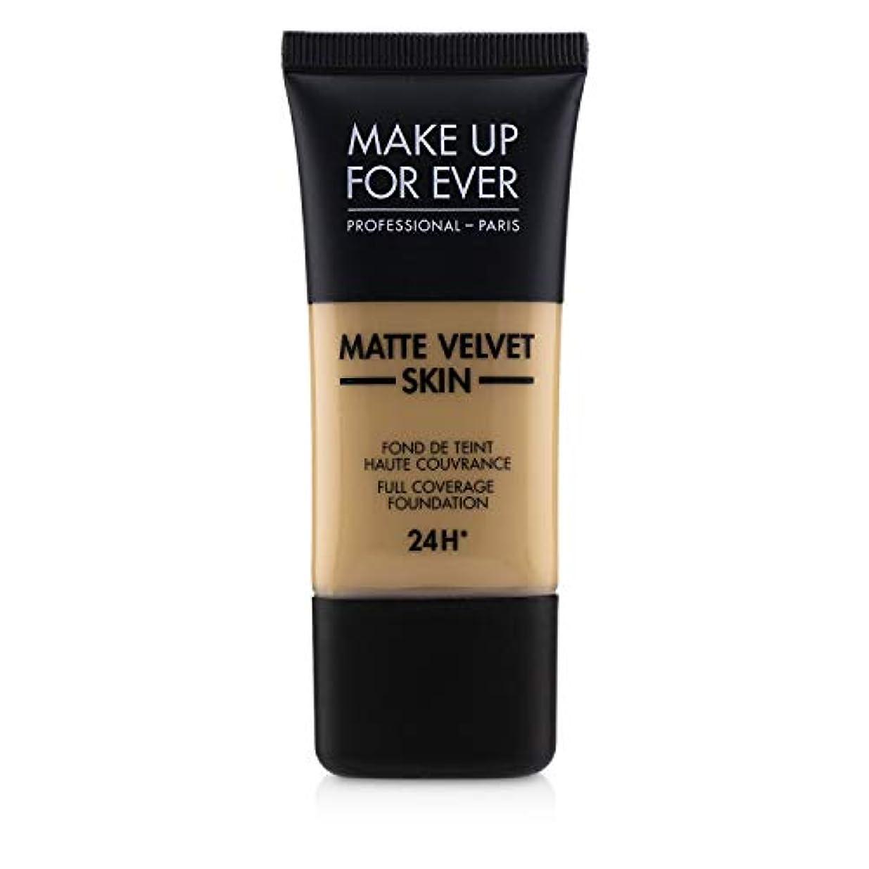 ひどい休暇腰メイクアップフォーエバー Matte Velvet Skin Full Coverage Foundation - # Y315 (Sand) 30ml/1oz並行輸入品