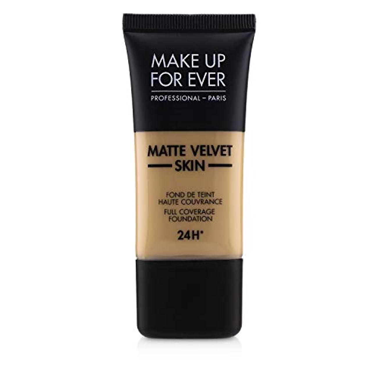 略語スズメバチちょうつがいメイクアップフォーエバー Matte Velvet Skin Full Coverage Foundation - # Y315 (Sand) 30ml/1oz並行輸入品