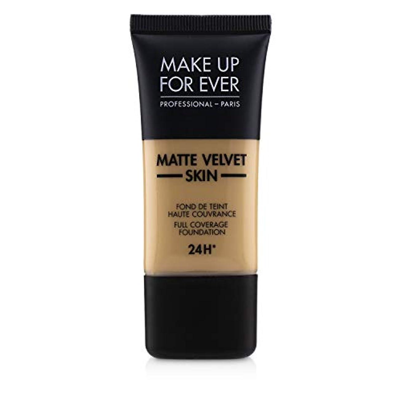 コジオスコ危険にさらされている引き潮メイクアップフォーエバー Matte Velvet Skin Full Coverage Foundation - # Y315 (Sand) 30ml/1oz並行輸入品