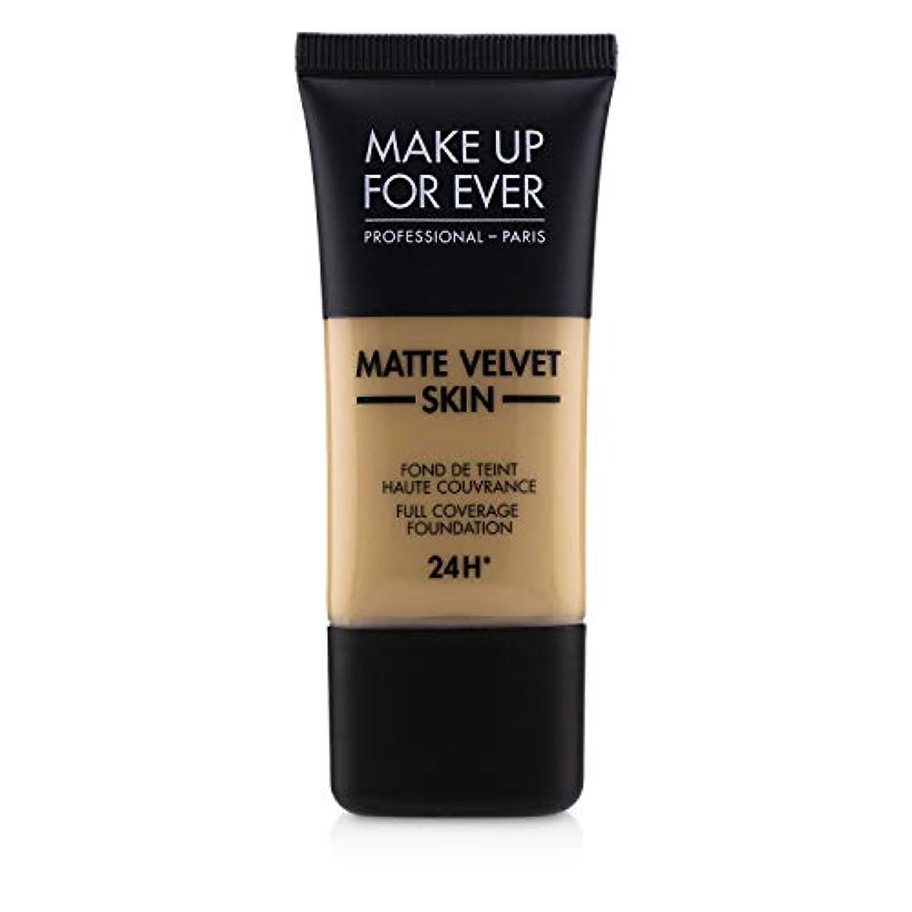 騒うめき大統領メイクアップフォーエバー Matte Velvet Skin Full Coverage Foundation - # Y315 (Sand) 30ml/1oz並行輸入品