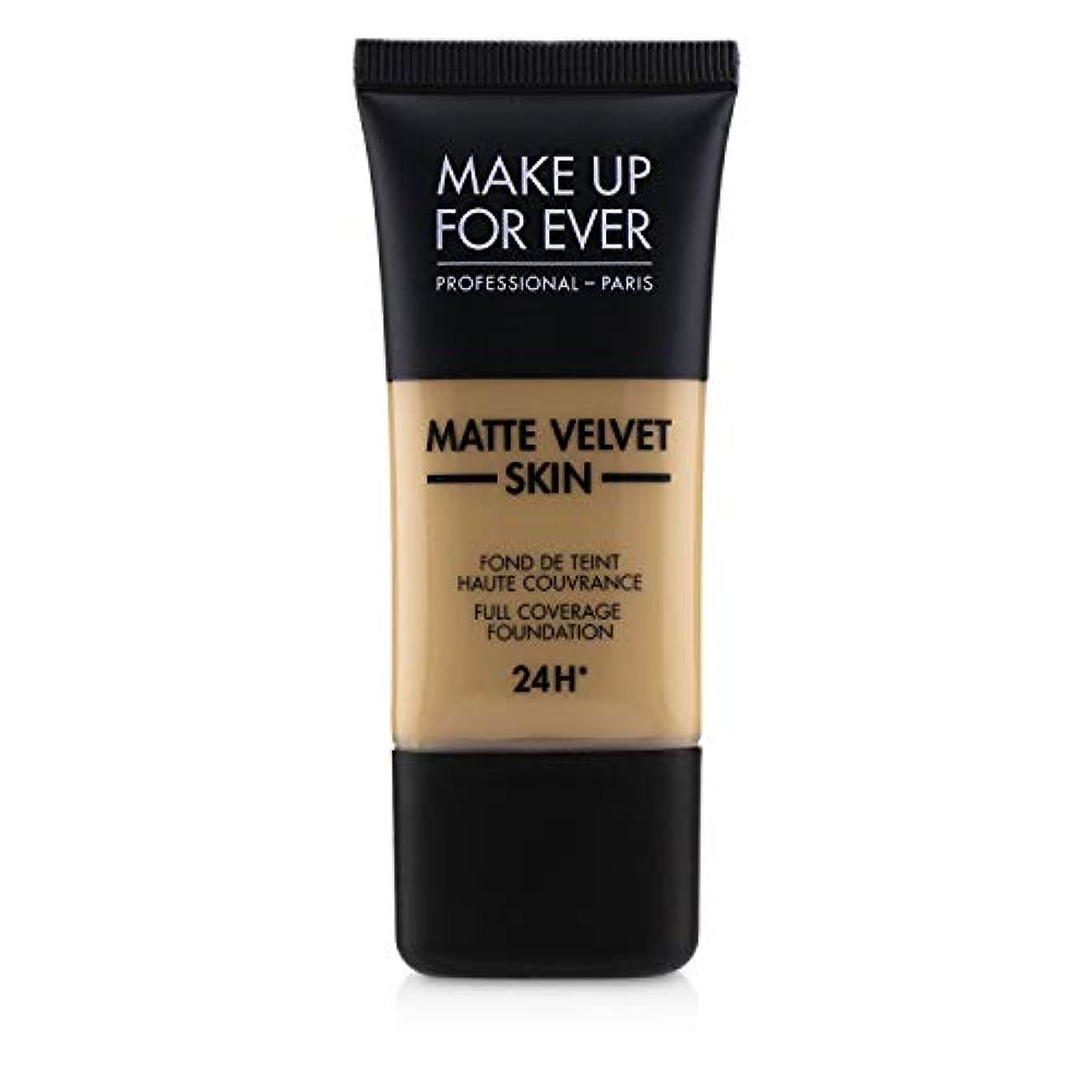 観察散髪姪メイクアップフォーエバー Matte Velvet Skin Full Coverage Foundation - # Y315 (Sand) 30ml/1oz並行輸入品