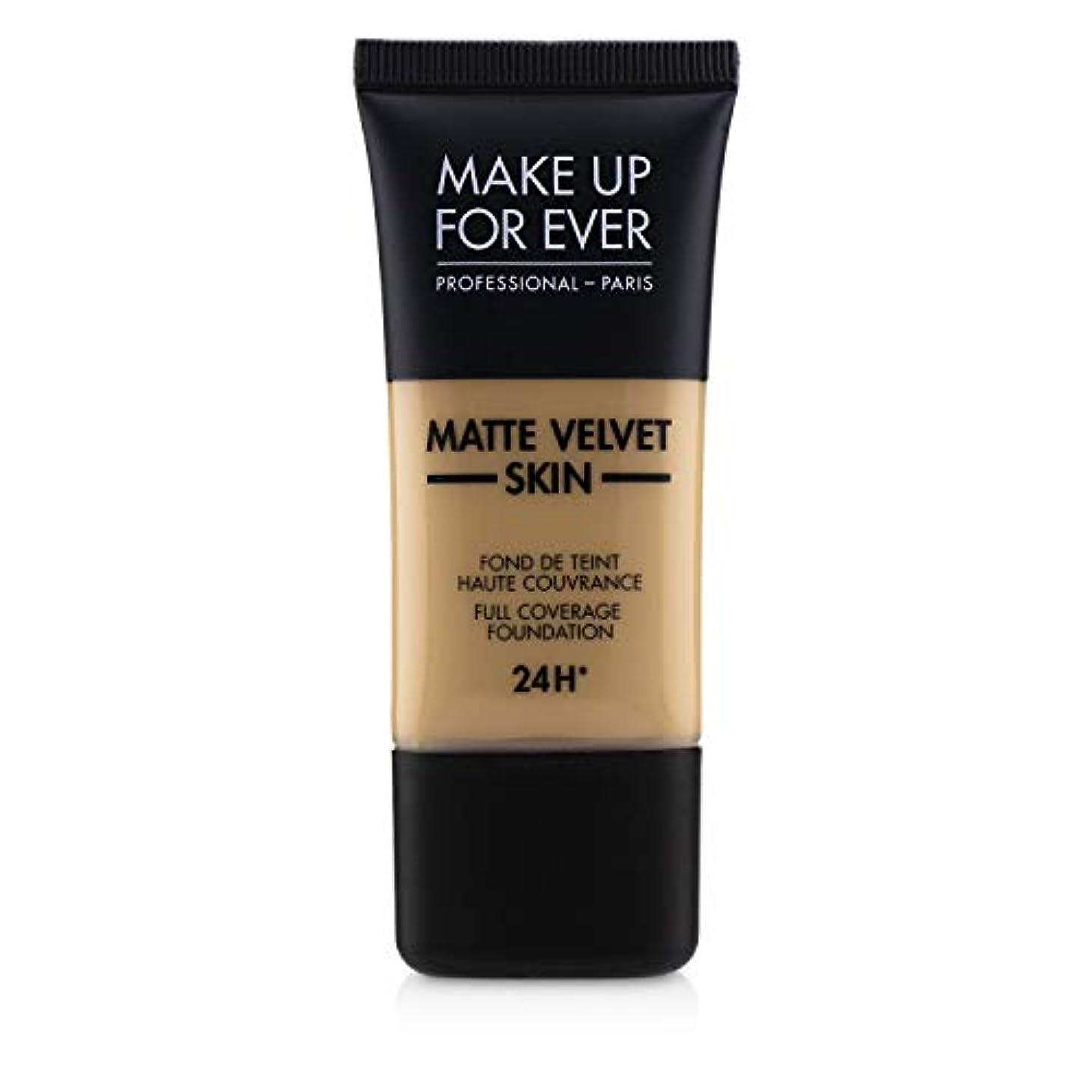 手段拘束クリエイティブメイクアップフォーエバー Matte Velvet Skin Full Coverage Foundation - # Y315 (Sand) 30ml/1oz並行輸入品