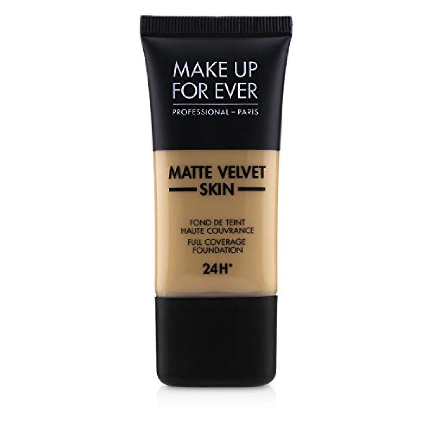 怠ナビゲーション理想的メイクアップフォーエバー Matte Velvet Skin Full Coverage Foundation - # Y315 (Sand) 30ml/1oz並行輸入品