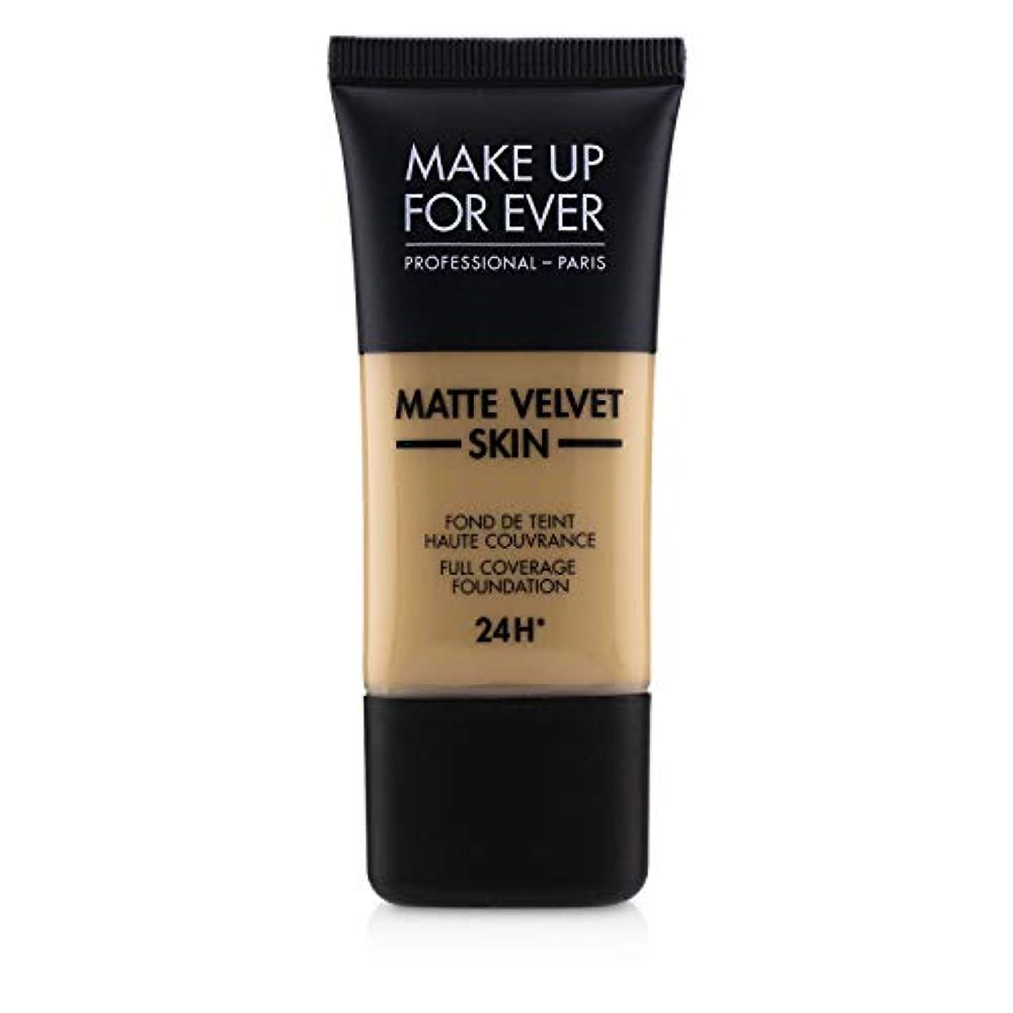 スラム街辞任する治すメイクアップフォーエバー Matte Velvet Skin Full Coverage Foundation - # Y315 (Sand) 30ml/1oz並行輸入品