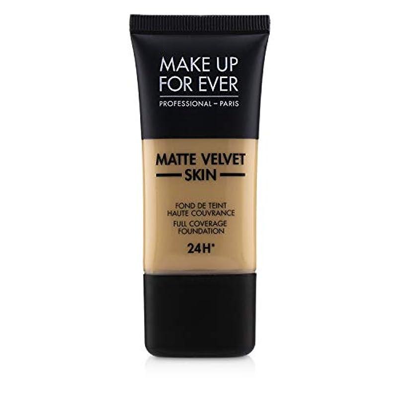 自動車誠意生き返らせるメイクアップフォーエバー Matte Velvet Skin Full Coverage Foundation - # Y315 (Sand) 30ml/1oz並行輸入品