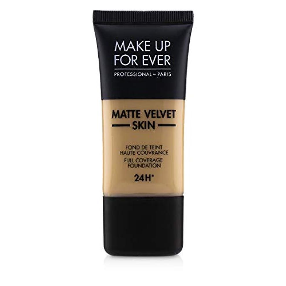 鉄魅了するくメイクアップフォーエバー Matte Velvet Skin Full Coverage Foundation - # Y315 (Sand) 30ml/1oz並行輸入品