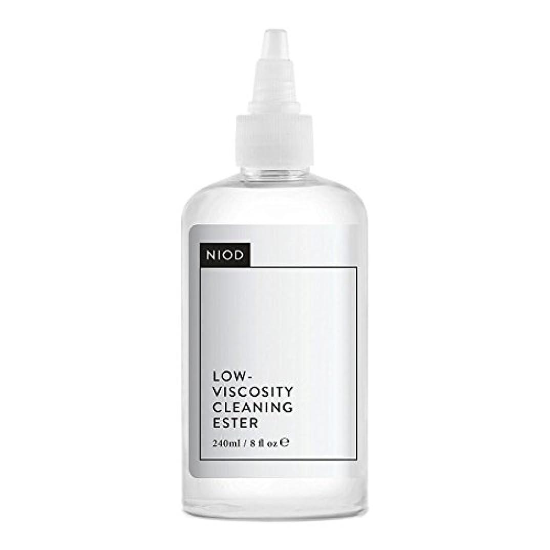 サバント勤勉楽観的Niod Low-viscosity Cleaning Ester 240ml [並行輸入品]