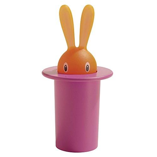 【正規輸入品】 ALESSI アレッシィ Magic Bunny マジックバニー 爪楊枝入れ / ピンク ASG16 P